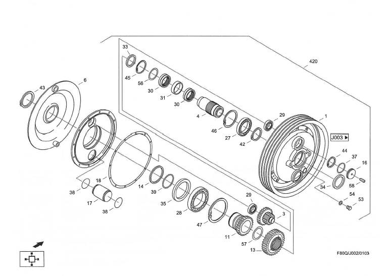 CF60_2001_J002_Dreschtrommelgetriebe