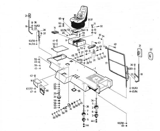 524_1993_091_Fahrerstandsaufbau_Fahrersitz
