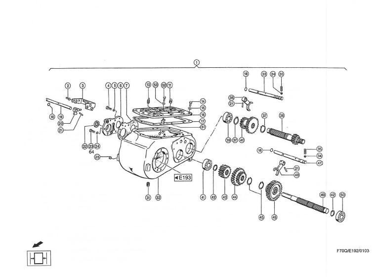 CF60_2001_E192_Schaltgetriebe