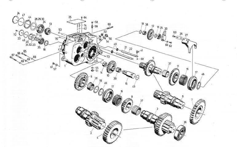 524_1993_143_Sirnradschaltgetr_III_Schaltwellen
